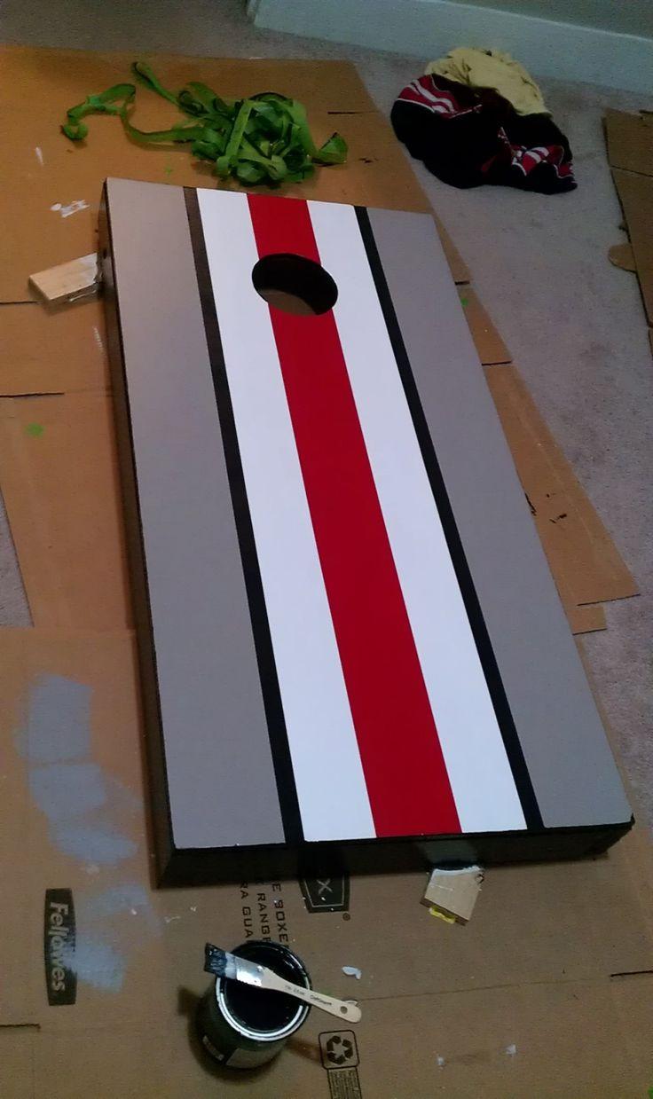 diy paint your cornhole boards - Cornhole Sets