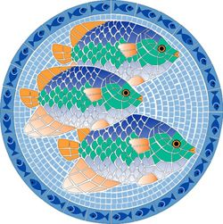 Aqua Art Swimming Pool Mosaics - Large Pool Art
