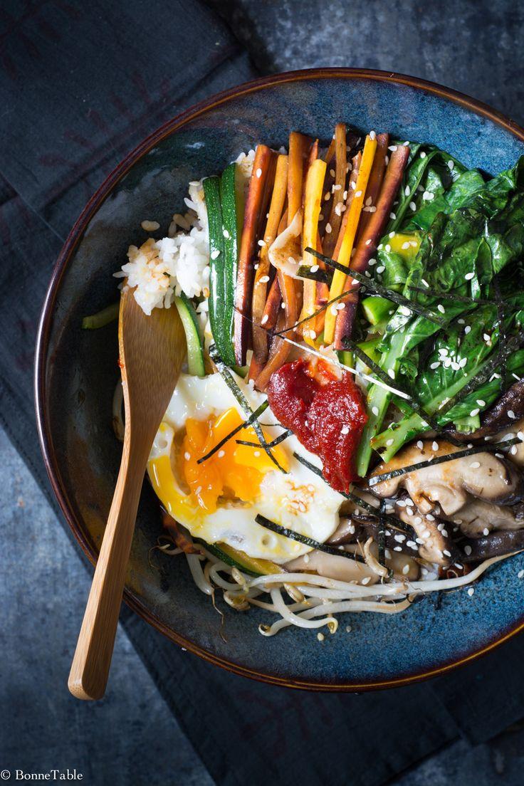 Depuis que j'ai goûté ce plat dans un restaurant coréen je ne fais que d'y penser, j'ai aujourd'hui décidé de le réaliser et le résultat est à la hauteur de ce que j'espérais... Pour 2 personnes : ...