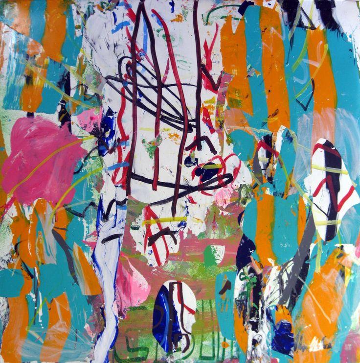 """Saatchi Art Artist: robert tavani; Acrylic 2012 Painting """"Maybe Miami"""""""