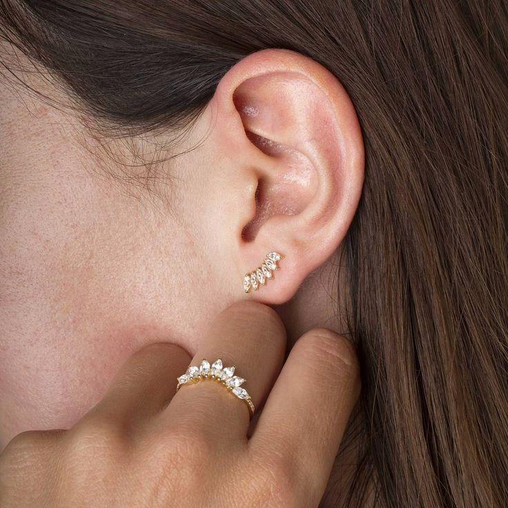 Boucle d'oreille fille leclerc