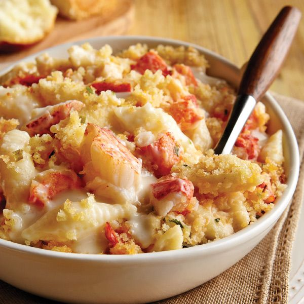 Lobster Macaroni and Cheese: Mix sweet Maine lobster meat, shell ...