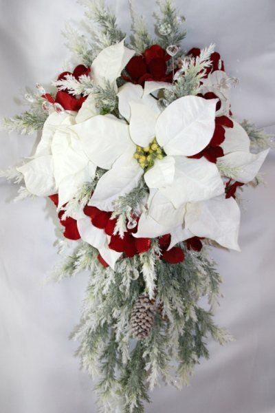 [Bouquet flower arranging] recommend male in winter wedding or Christmas wedding * image that winter has been introduced in the season of flowers together ♡