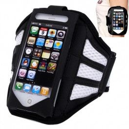 Sports Armband Case for iPhone 5 & 5C & 5S - White iPhone 5 Armband termurah hanya di Gudang Gadget Murah. Case ini digunakan dengan direkatkan di pergelangan tangan. Cocok untuk Anda yang suka ber-olahraga seperti jogging, bersepeda, dll. Case ini kompatibel dengan iPhone 5/5s/5c - White