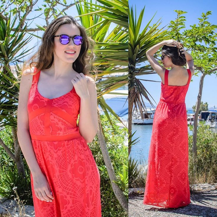 Love for the #coral 🌴 #lovefashiongr #fashionblogger #sessile #scapeswear