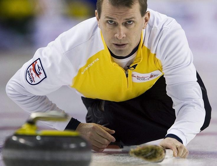 Jeff Stoughton at the 2009 Brier Tournament.