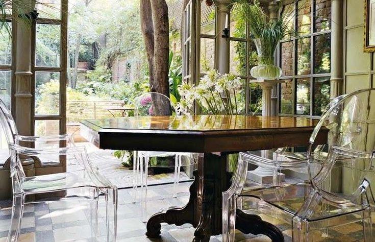 Abbinare tavolo e sedie - Tavolo classico e sedie moderne