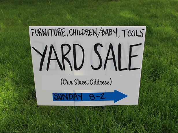 making yard sale signs akba greenw co