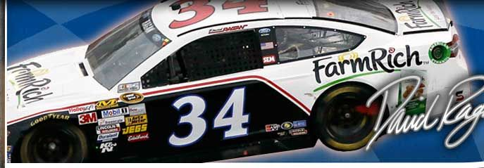 Look for the #34 Farm Rich Ford with driver David Ragan behind the wheel on March 2, 2014 at the NASCAR Sprint Cup Series in Phoenix. Go David!