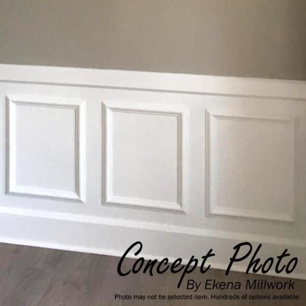 Ekena Millwork 16 In W X 20 In H X 1 2 In P Ashford Molded Classic Wainscot Wall Panel Pn In 2020 Wainscoting Wall Dining Room Wainscoting Wainscoting Wall Paneling