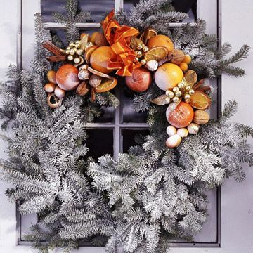 Thanksgiving wreath!