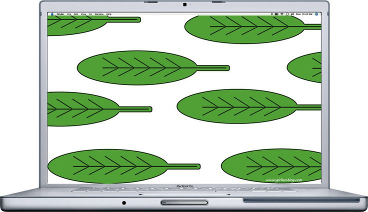 Decorate Your Tech - Banana Leaf Wallpaper {FREE WALLPAPER DOWNLOAD} - Girl Nesting #girlnesting #freedownload