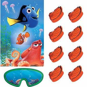NEW-Disney-Finding-Dory-Party-Game-Decoration-Finding-Nemo-Party-Supplies-Pin-it