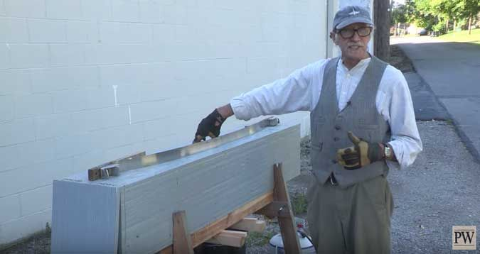 Video: Don Weber shows us his shop-made steam box setup, made from easy-to-find, inexpensive materials. Then, he shows us his jig for bending a chair arm.