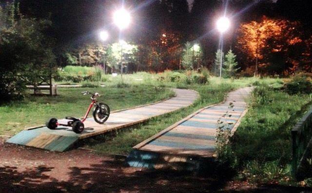 Electric drift trike #nightride