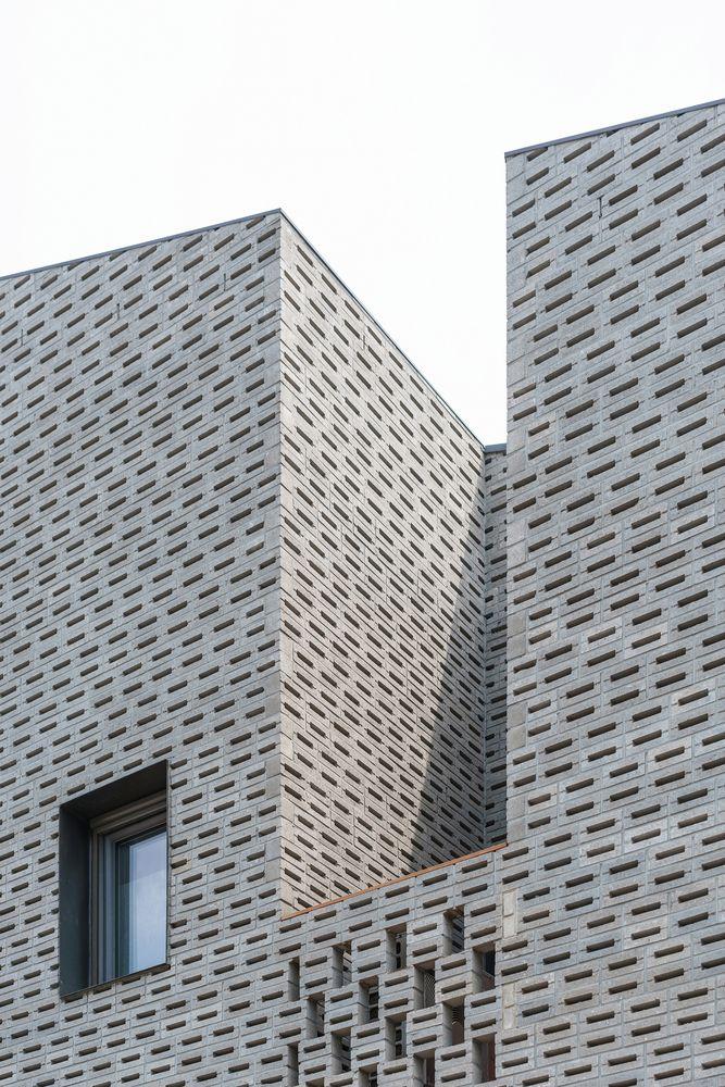 Gallery Of The Masonry House Stpmj 3 Masonry Brick Detail Brick Architecture
