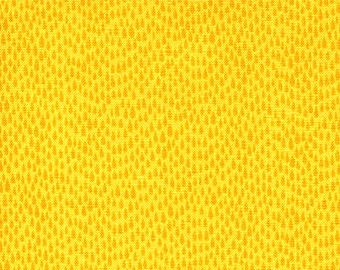 Dotted Yellow Fabric - Rain (mini) by Timeless Treasures - c1480 Lemon - 1/2 yard