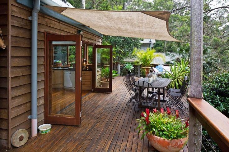 Minty Inspirations: Drewniany dom nad zatoką