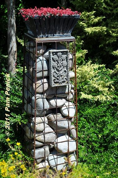 Garden Art Projects | ... chic defines Edwards Forkner Garden: Seattle Garden Bloggers Fling