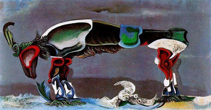'der schön saison', 1925 von Max Ernst (1891-1976, Germany)