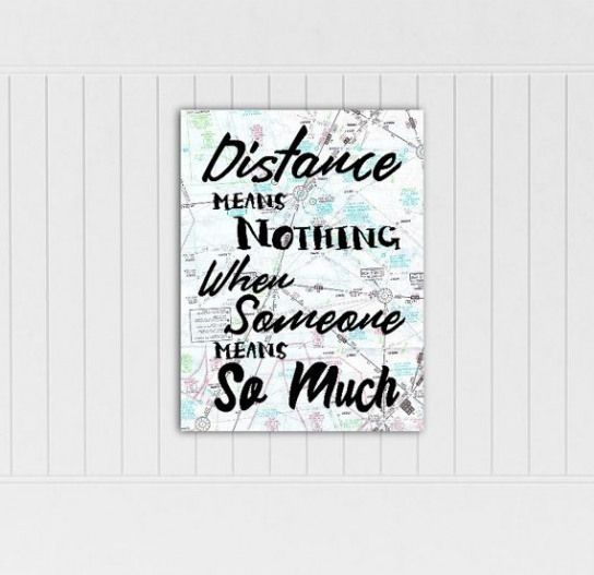 Aviation Map Long Distance Relationship Long Distance Boyfriend Gift Best Friend Long Distance Long Distance Gift Going Away Gift by LuvOfMineDesigns …