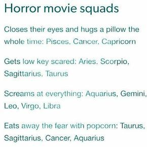 I like sitting next to the huggers in movies because the body warmth is nice cause it's cold as hell -Gemini