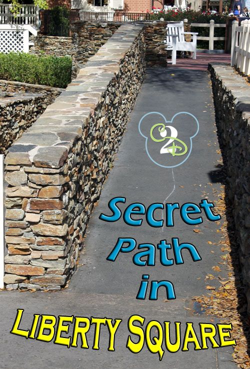 Don't miss the Secret Path in Liberty Square