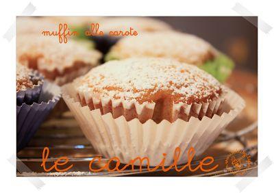 Bolli bolli pentolino: muffins alla carota: le camille