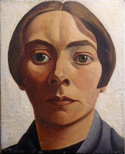 Charley Toorop (1891-1955), Self-portrait, 1928 Rotterdam, Museum Boijmans Van Beuningen
