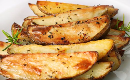 #Epicure Greek Oven Roasted Lemon Potatoes #vegetarian