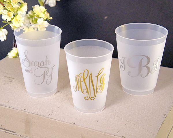 17 Best Ideas About Wedding Cups On Pinterest