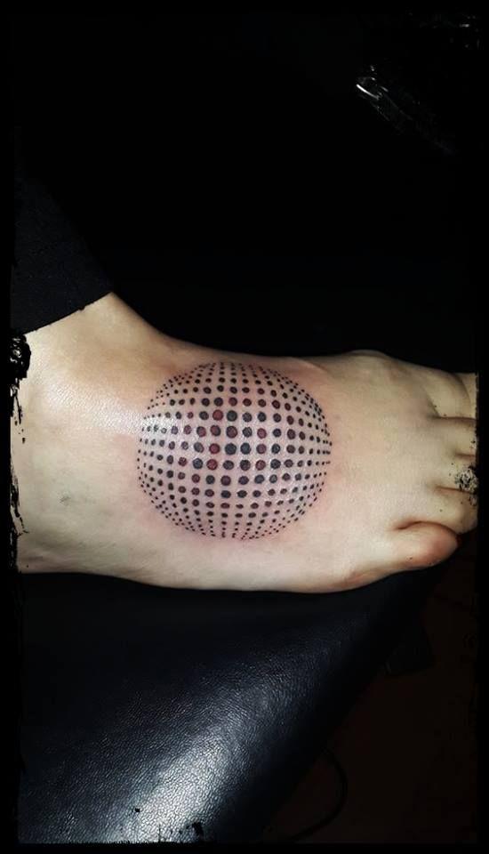 vector dot tattoo
