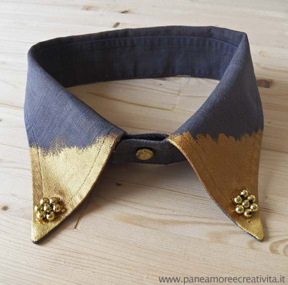Moda fai da te: come fare un colletto gioiello