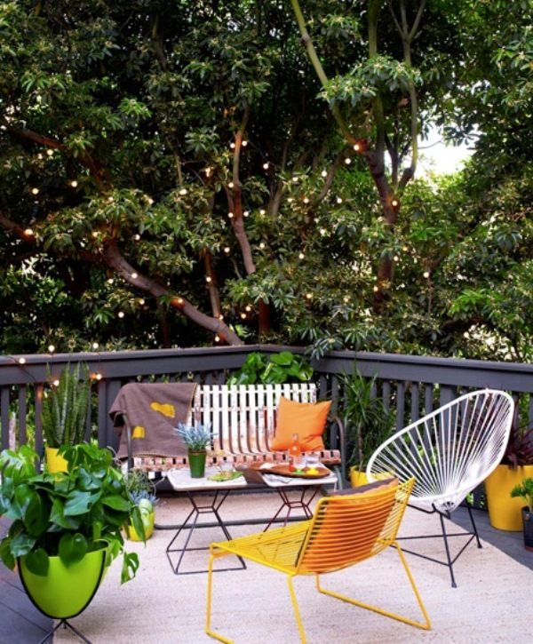 33 best small garden ideas images on pinterest | gardens ... - Small Patio Furniture Ideas