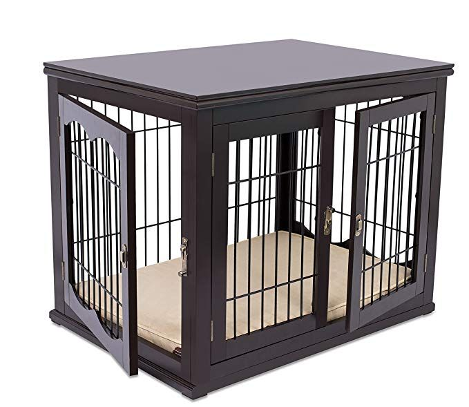 Best Wood & Wire Dog Crate with Cushion Review