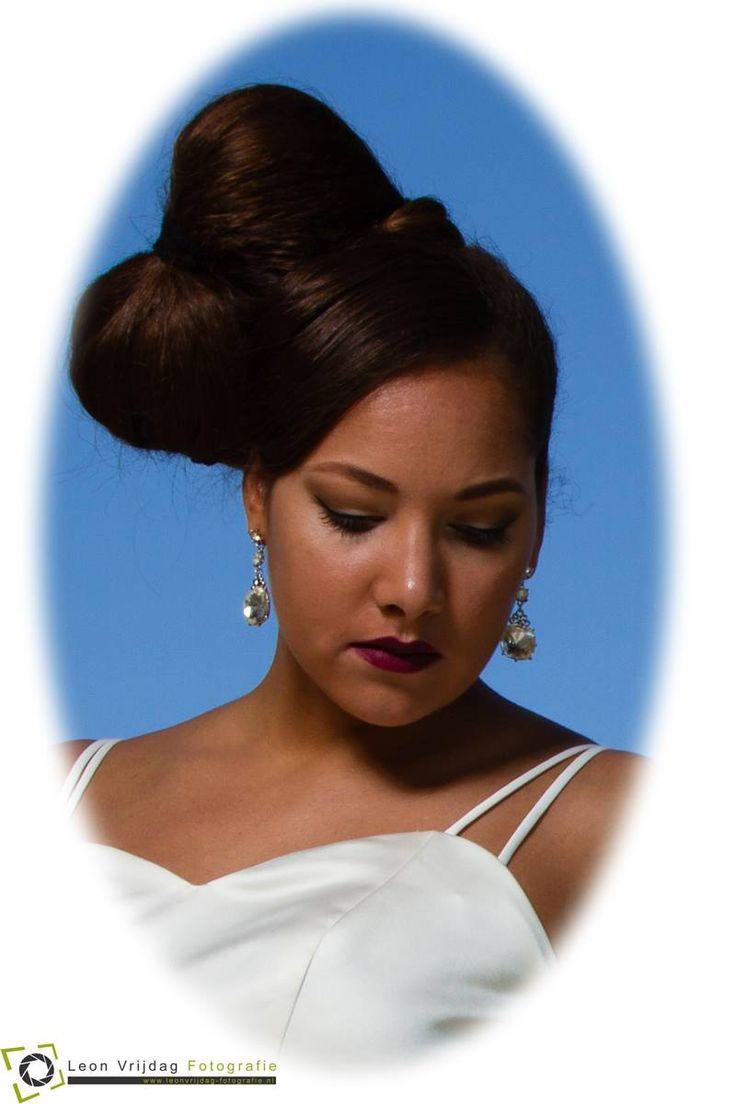 Bruiloft? Trendy Bruid, Visagie Tara , Leon Vrijdag Photography, Model: Tara D'Rozario Hair and Make-up: Trendy Haar, verzorgd ook jouw bruidsmakeup, bruidsmake-up en haarstyling op je bruiloft.