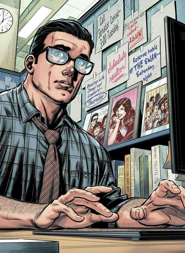 Clark Kent (Superman) by Ian Churchill