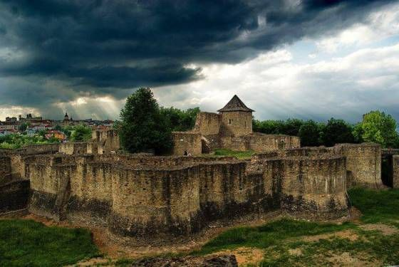 Beautiful Romania : Suceava Fortress.