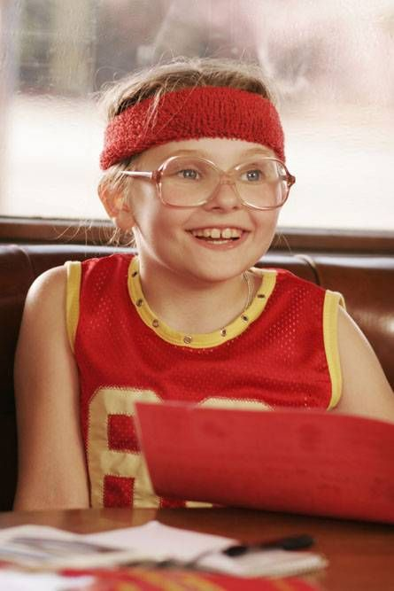 Little Miss Sunshine.     If you 've seen this film you will know this little girl IS a female icon!