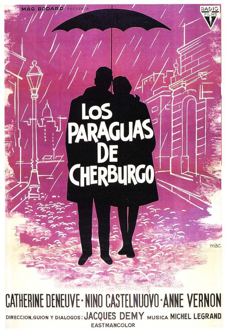 """Los paraguas de Cherburgo (1964) """"Les parapluies de Cherbourg"""" de Jacques Demy - tt0058450"""