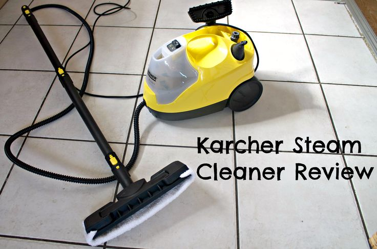 Review of a karcher steam cleaner.