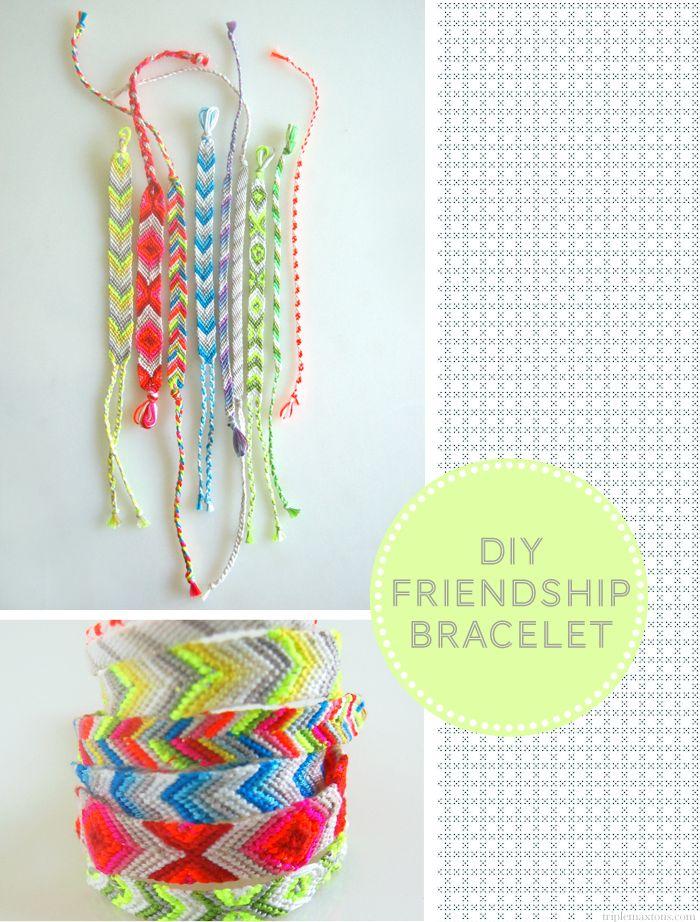 bracelet d'amitié a essayer ..mais le modele que je faisait avec le livre