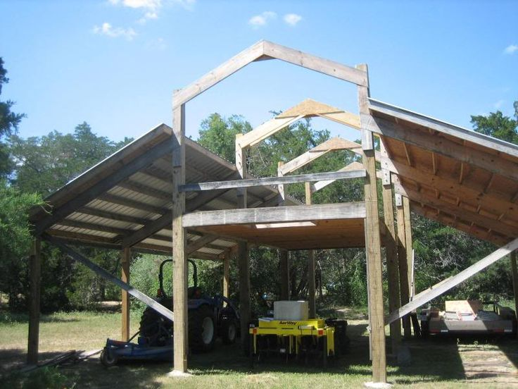 pole barn designs with loft