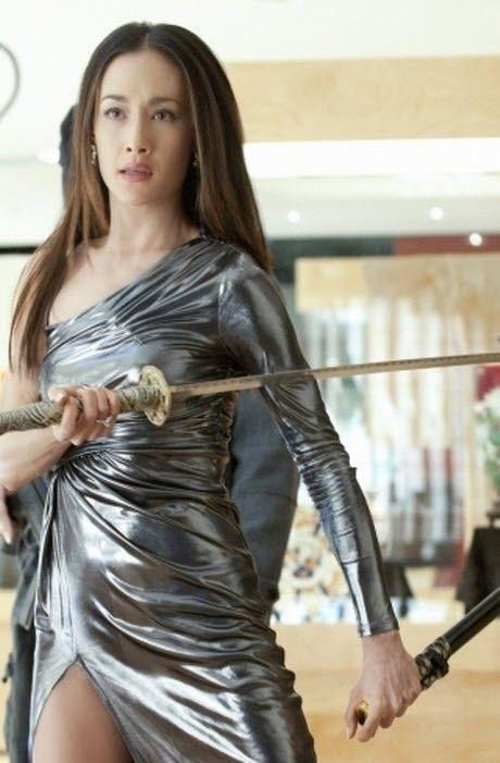 Maggie Q as Nikita(coup de grâce)