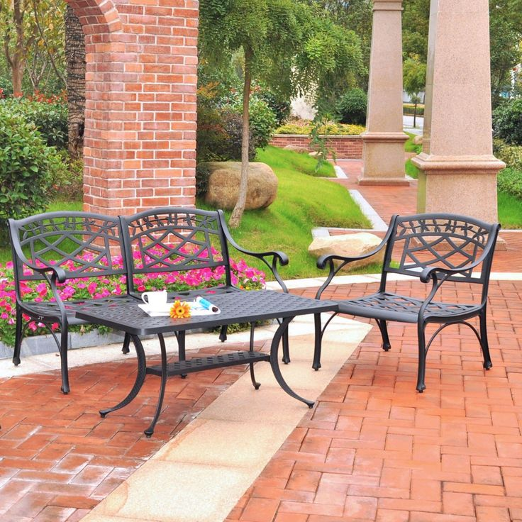 Find This Pin And More On Cast Aluminum And Metal Patio Furniture From Home  And Patio Decor Center By Homeandpatio.