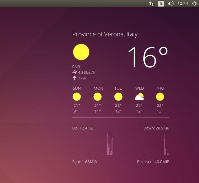 Conky Google Now Trasparente #conky #linux #ubuntu #google