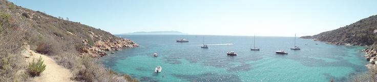 Isola del Giglio, Caldane
