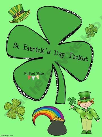 Saint Patrick's Day Packet