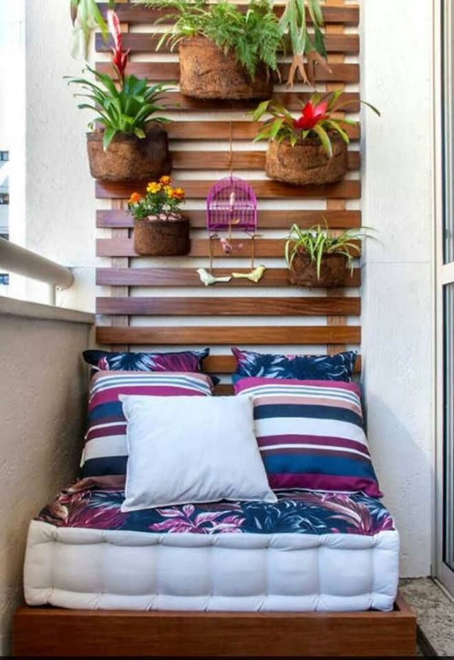 Living Room Decorating Ideas: The most beautiful balcon decorations