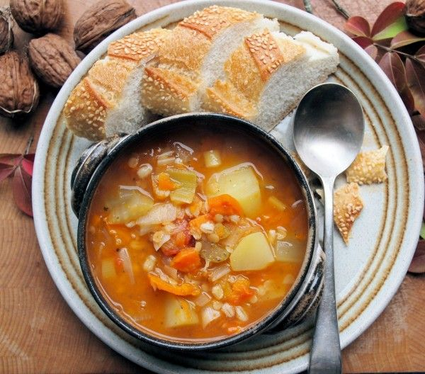 Mid-Week Meal Plan: Meat-Free Scotch Broth Recipe (5:2 Fast and Feast Diet)